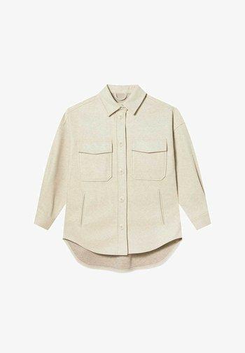 OVERSIZE - Light jacket - beige