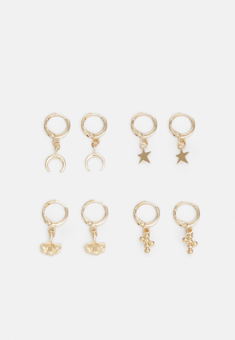 Pieces - PCLONDYNA EARRINGS 4 PACK - Earrings - gold-coloured