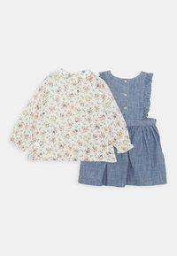 Polo Ralph Lauren - RUFFLE JUMPER SET - Day dress - indigo - 1