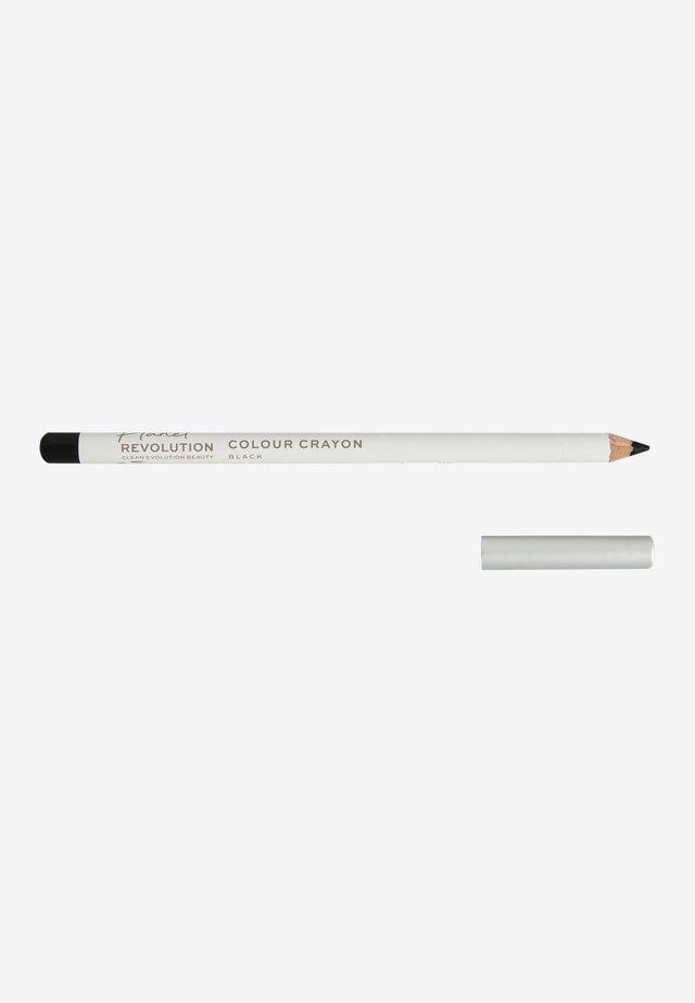 PLANET REVOLUTION MULTI USE COLOUR CRAYON - Eyeliner - black