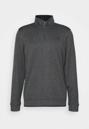STORM  1/4 ZIP LAYER - Mikina - black light heather