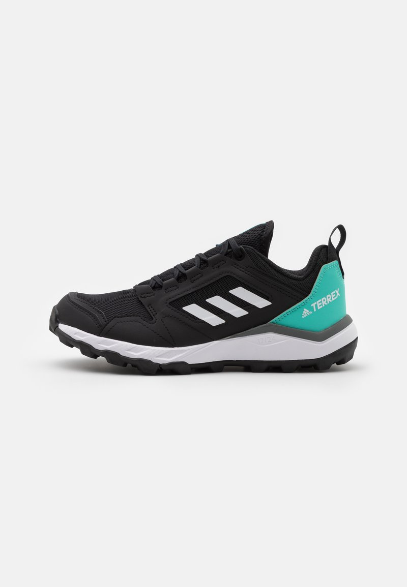 adidas Performance - TERREX AGRAVIC TR - Trainers - core black/crystal white/acid mint