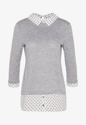 PETITE SPOT 2 IN 1 - Sweter - mottled grey