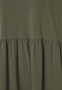 Noisy May - NMKERRY SHORT DRESS - Jerseykjoler - kalamata - 2