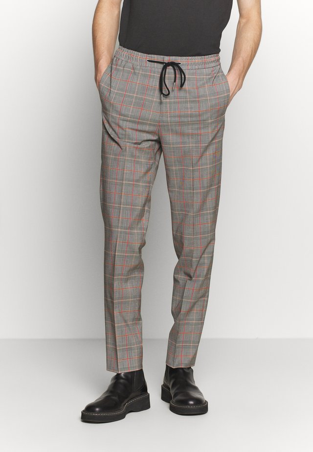 PEROU CHECKS - Pantaloni - gris