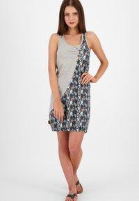 alife & kickin - Jersey dress - steel - 1