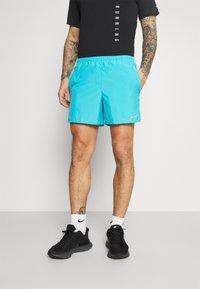 Nike Performance - CHALLENGER SHORT - Sports shorts - chlorine blue - 0