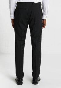 Tommy Hilfiger Tailored - SLIM FIT SUIT - Oblek - black - 5