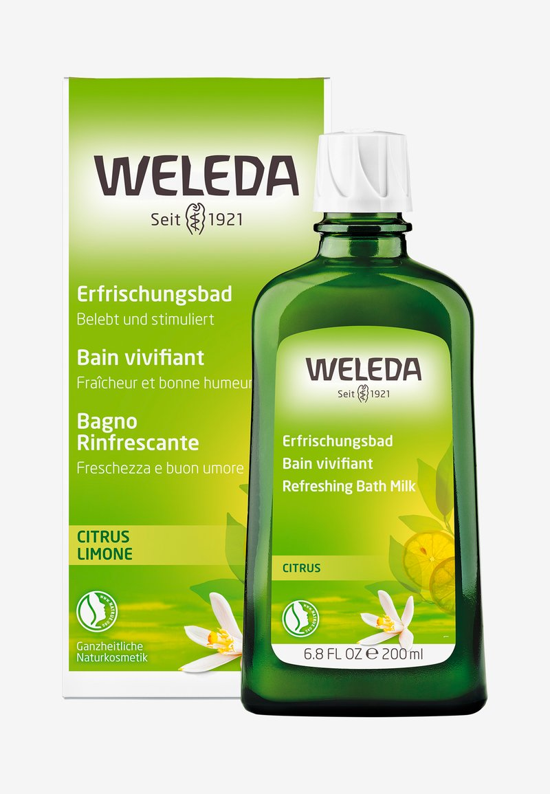 Weleda - CITRUS REFRESHING BATH MILK - Kosmetyki do kąpieli - -