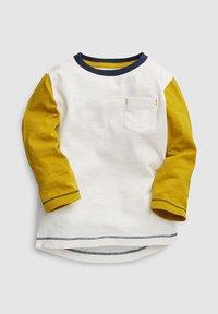 Next - COLOURBLOCK LONG SLEEVE T-SHIRTS 5 PACK - Long sleeved top - green - 5