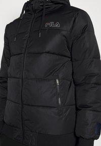 Fila - LASSE PUFFED JACKET - Winter jacket - black - 5