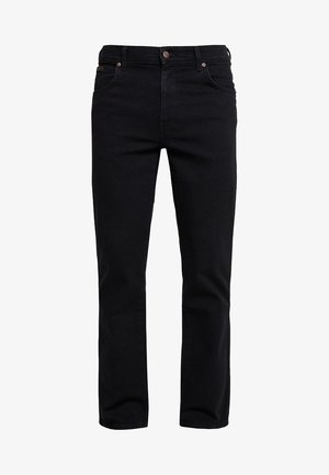 TEXAS STRETCH - Jeansy Straight Leg - black overdye