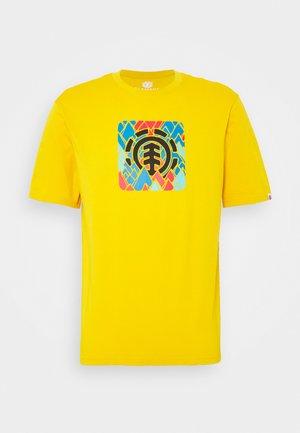 PALETTE  - Print T-shirt - old gold