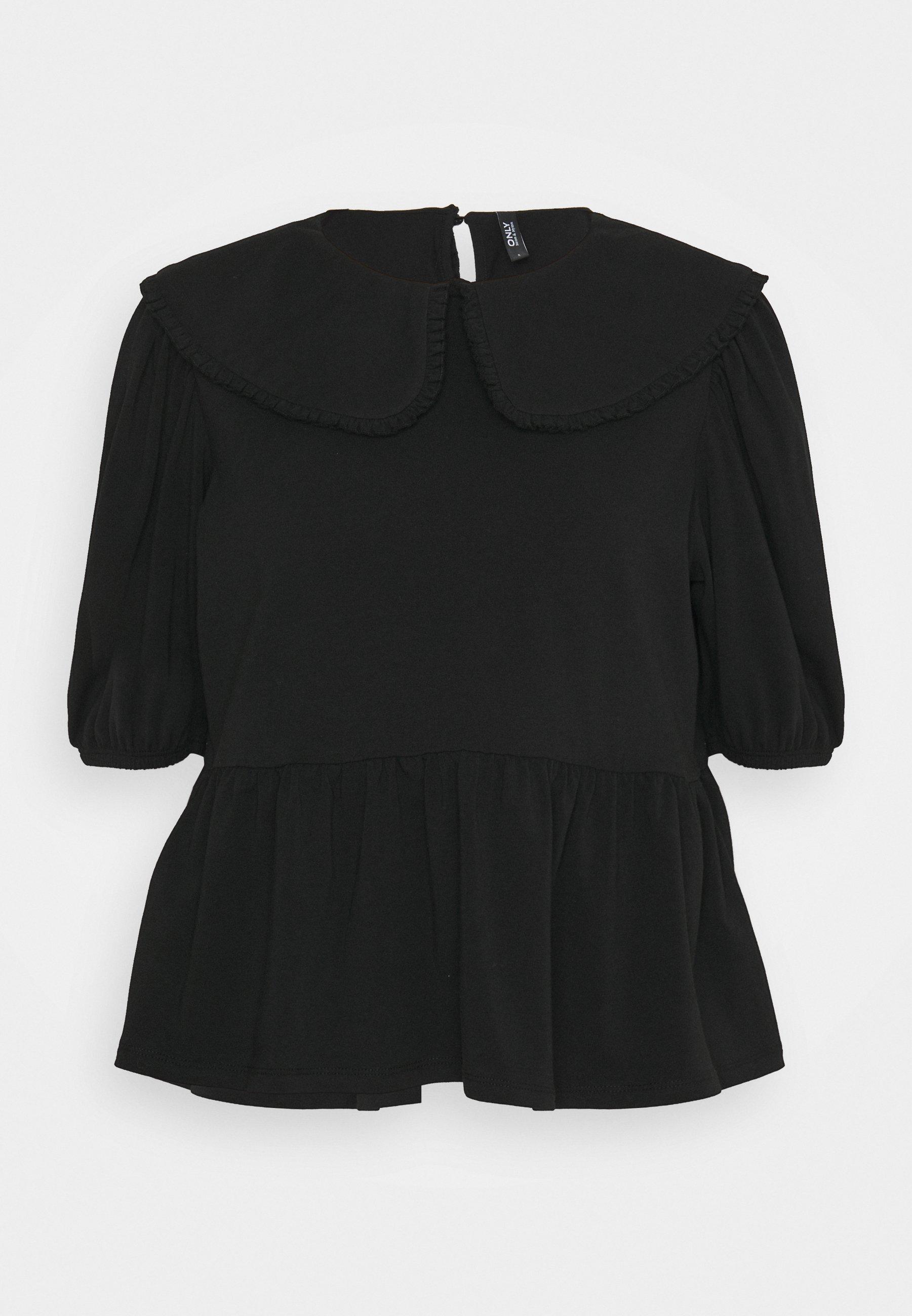 Women ONLLIVE LOVE COLLAR - Basic T-shirt