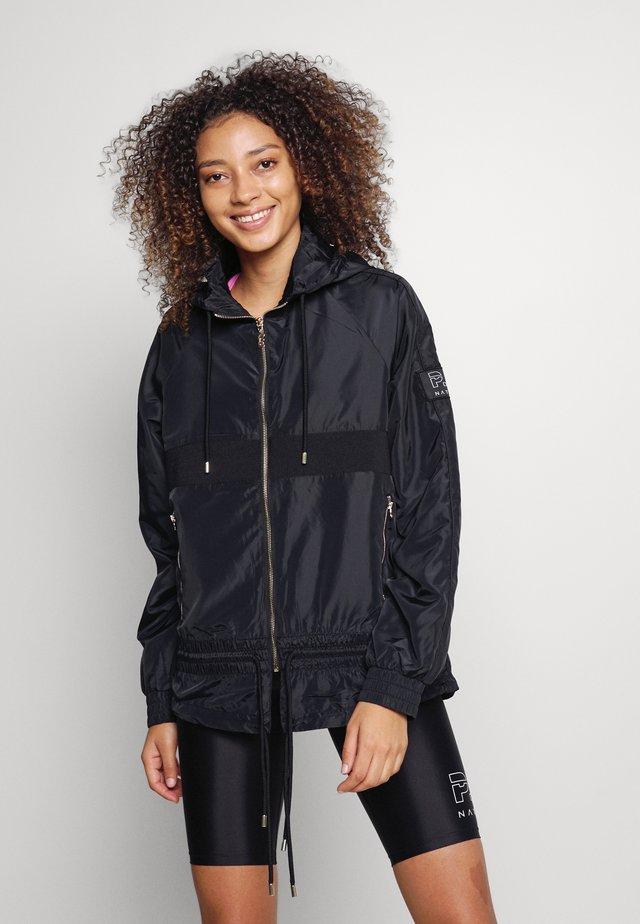 ENDURANCE JACKET - Sportovní bunda - black