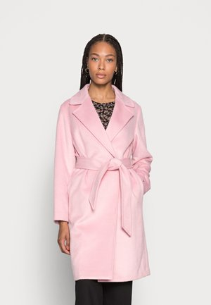 BLEND BELTED COAT - Classic coat - glacier pink