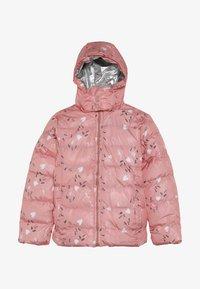 Lemon Beret - SMALL GIRLS JACKET - Winter jacket - flamingo pink - 4