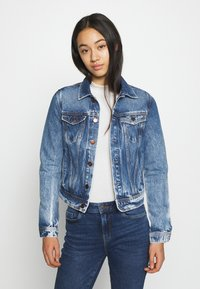 Pepe Jeans - CORE JACKET - Kurtka jeansowa - blue denim - 0