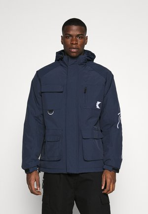 SIGNATURE PADDED UTILITY JACKET - Parka - navy