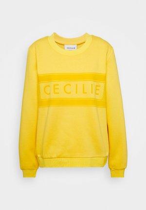 MANILA - Sweatshirt - lemon