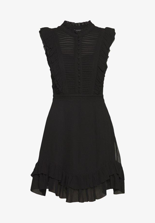 LOLA DRESS - Košilové šaty - black