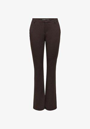 ONLROCKY  - Trousers - chocolate plum
