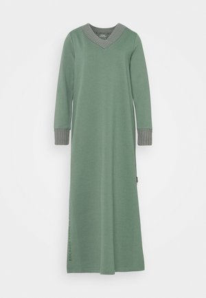 LAKE DRESS WOMAN - Vestito lungo - green shadow