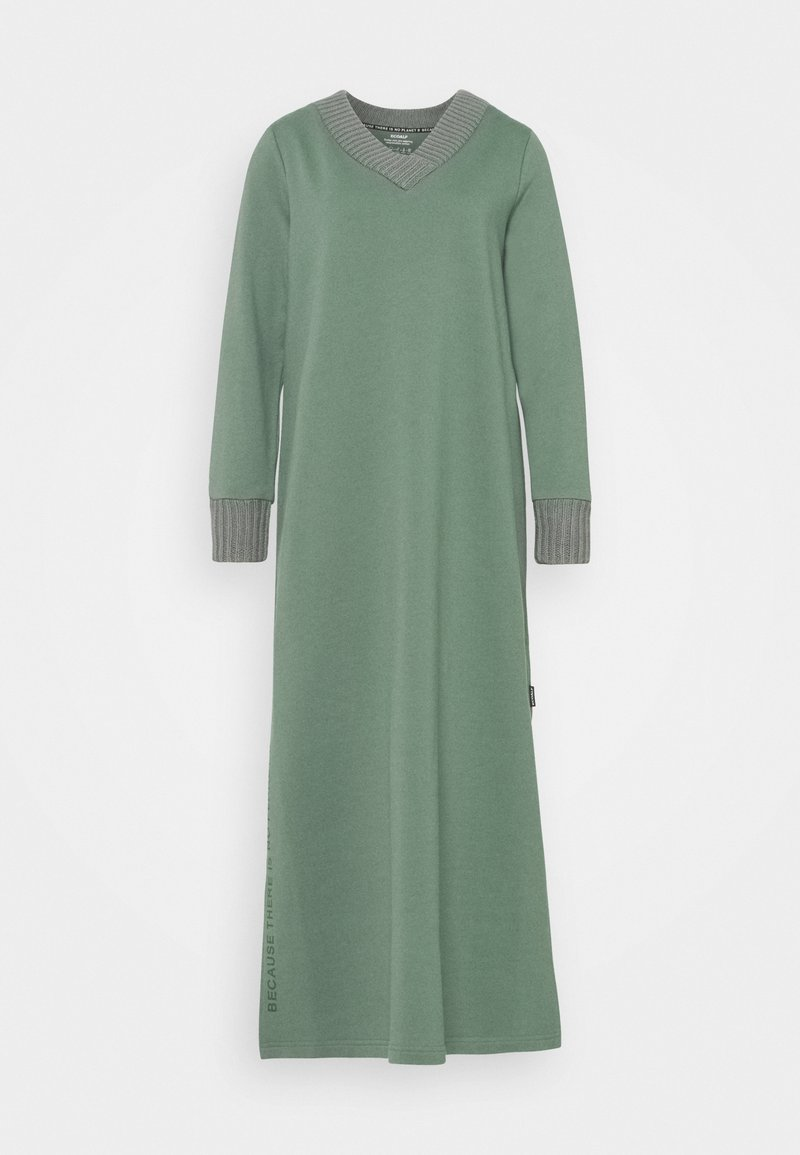 Ecoalf - LAKE DRESS WOMAN - Maxi dress - green shadow