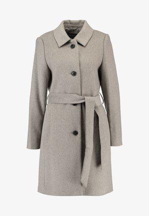 CHECK COAT - Manteau classique - light taupe