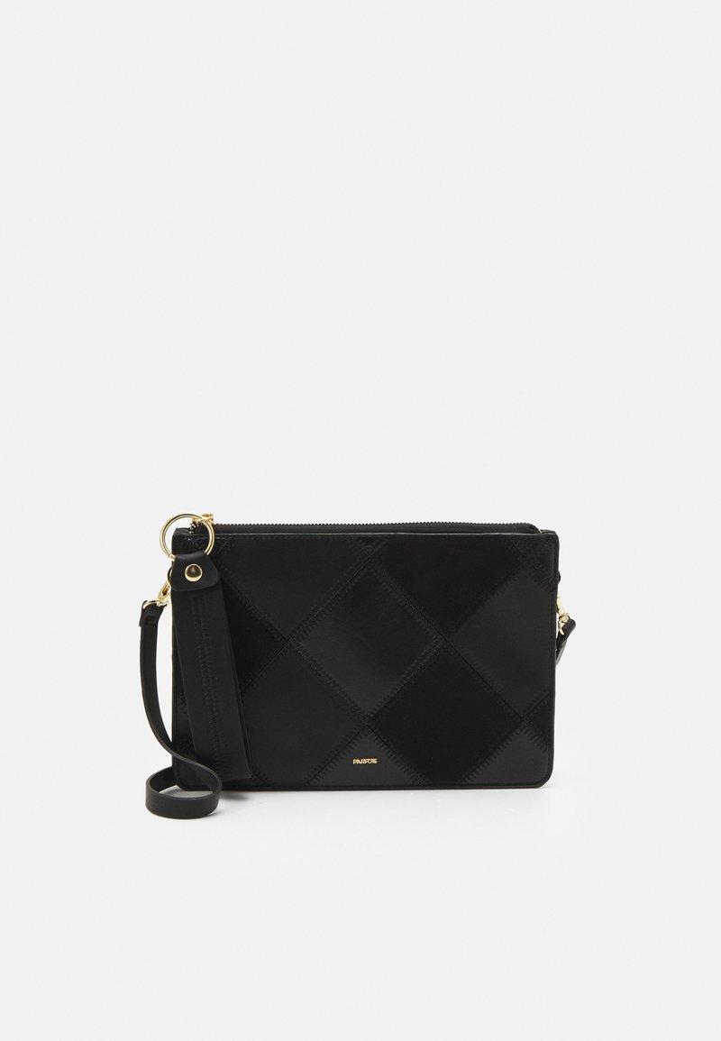 PARFOIS - HAND BAG ROMEO - Handbag - black