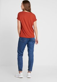 ONLY - Basic T-shirt - picante - 2