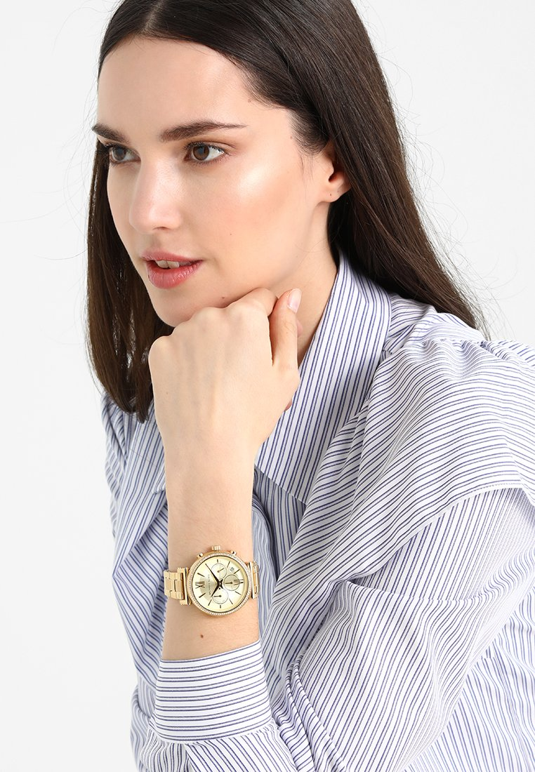 Michael Kors - SOFIE - Chronograph watch - gold-coloured