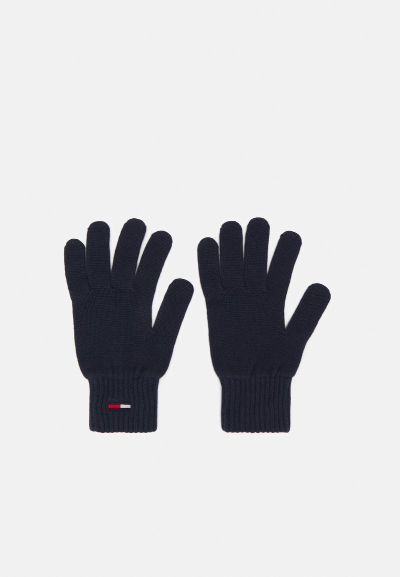 Tommy Jeans - BASIC FLAG GLOVES - Gloves - blue