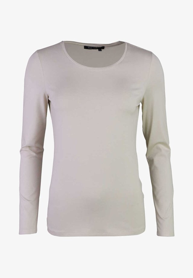 Long sleeved top - creme/beige