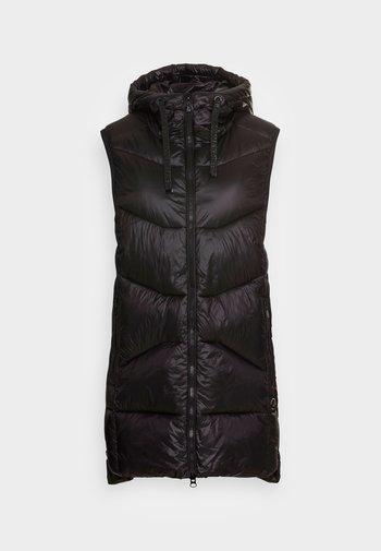 LITTLE TWISTER - Waistcoat - black