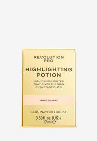 Revolution PRO - HIGHLIGHTING POTION - Highlighter - rose quartz - 2