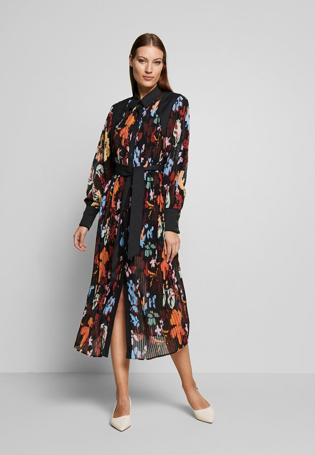 WITH OR WITHOUT DRESS - Korte jurk - black abstract floral