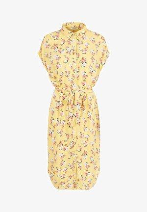 Shirt dress - lemon drop