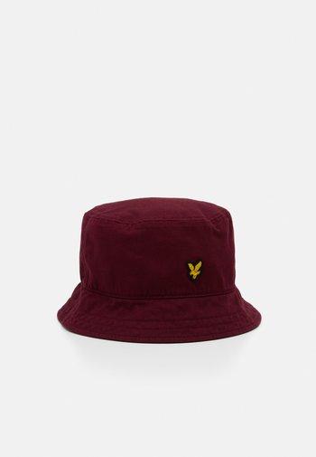 BUCKET HAT UNISEX - Hat - merlot