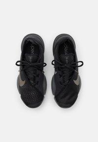 Nike Performance - AIR ZOOM SUPERREP 2 UNISEX - Sports shoes - black/mtlc pewter-iron grey-mtlc pewter - 1