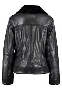 DNR Jackets - Leather jacket - black - 1