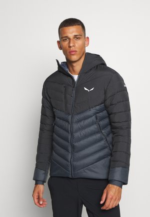 ORTLES MEDIUM - Daunenjacke - black out