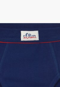 s.Oliver - BRIEFS 2 PACK - Kalhotky - royal blue - 3