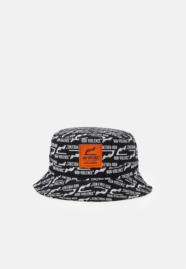 JACNON-VIOLENCE BUCKET HAT - Klobouk - black