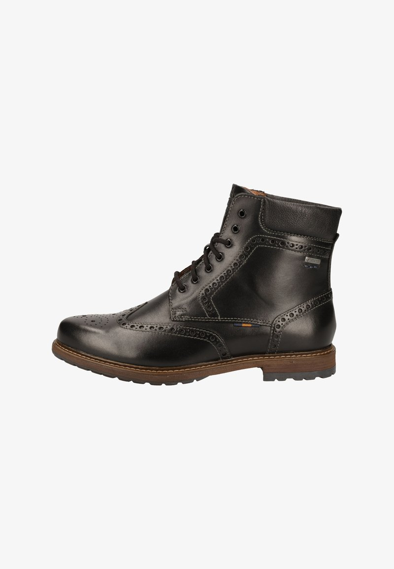 Fretz Men - Lace-up ankle boots - black
