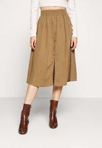 Pieces Petite - LIV SKIRT PETIT - A-line skirt - kangaroo - 0