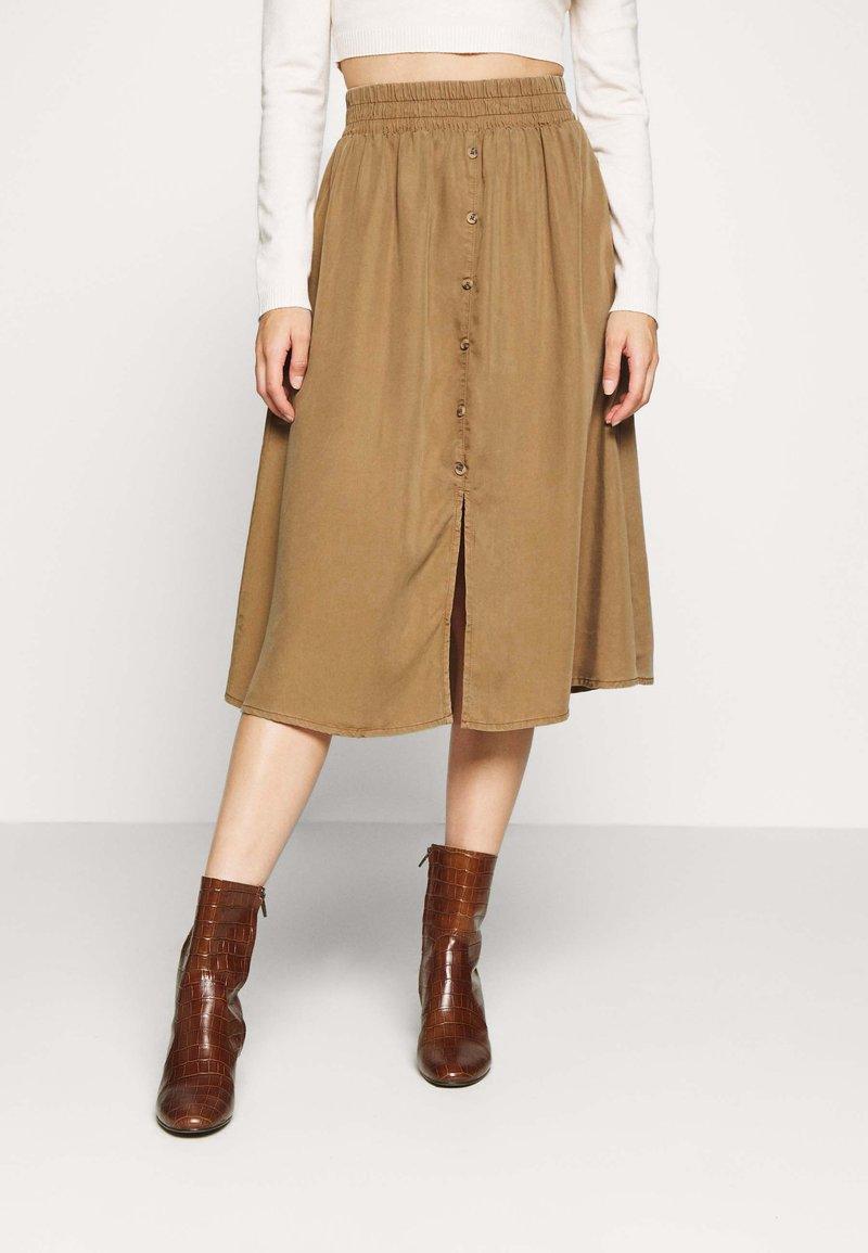 Pieces Petite - LIV SKIRT PETIT - A-line skirt - kangaroo