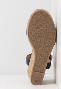 Mexx - ESTELLE - High heeled sandals - blue - 6