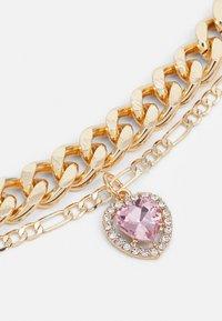 Pieces - PCIRIS COMBI NECKLACE - Necklace - gold-coloured - 2