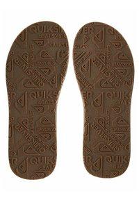 Quiksilver - CARVER - T-bar sandals - beige - 3